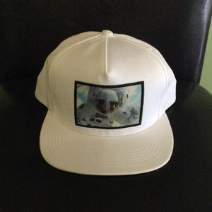Supreme Astronaut White Adjustable Hat